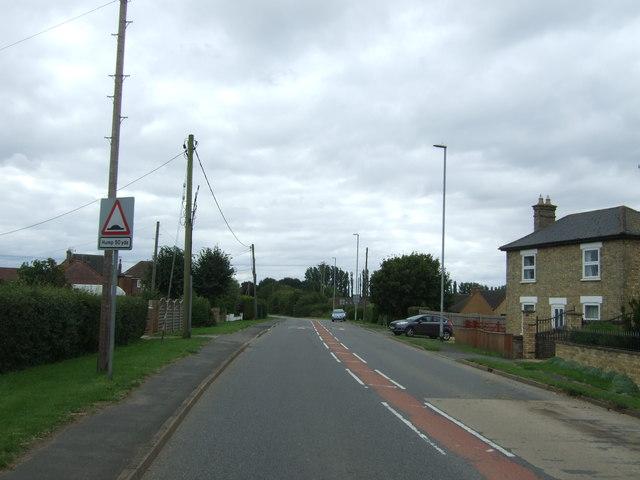 London Road (B1050), Chatteris