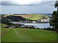 SX0949 : Descending towards Polridmouth Cove by John Lucas