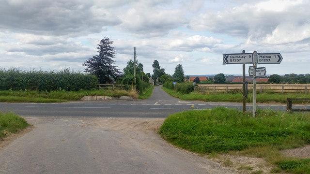 Fryton road end