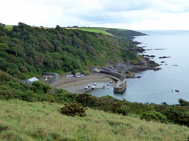 The small harbour of Polkerris