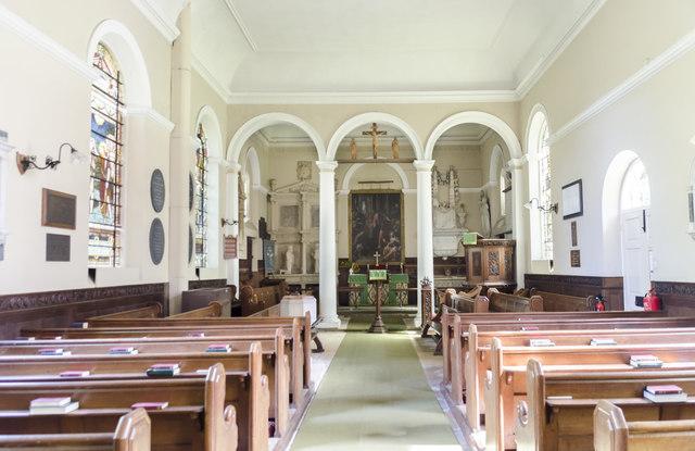Interior, Church of the Holy Rood, Ossington