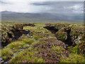 NH5882 : Looking down Leathad na Siorramachd by Julian Paren