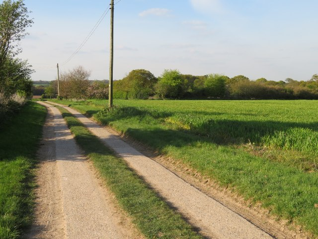 Breach Farm track