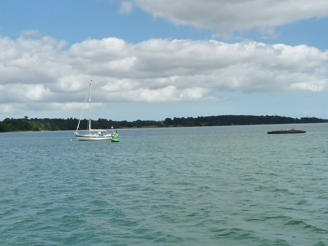 Potter's Reach, River Orwell, close to high tide