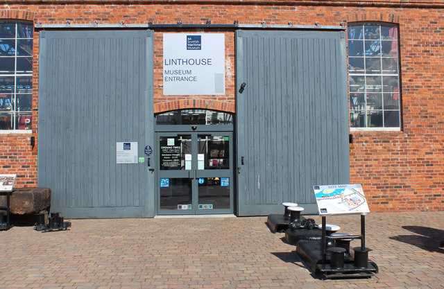 Entrance to the Maritime Museum Irvine.
