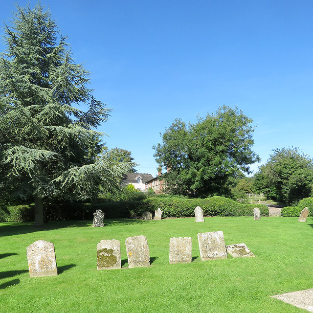 In Withersfield churchyard
