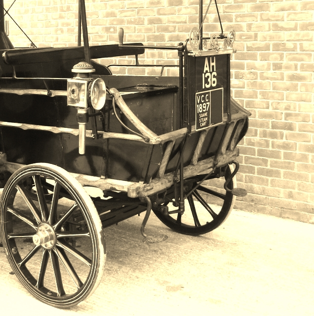 The Soame Steam Wagonette - front end