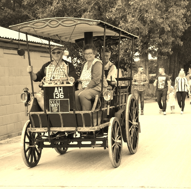 The Soame Steam Wagonette
