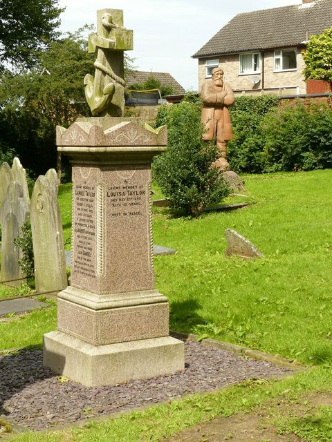 The grave of Samuel Taylor, Stanton Road, Cemetery, Ilkeston