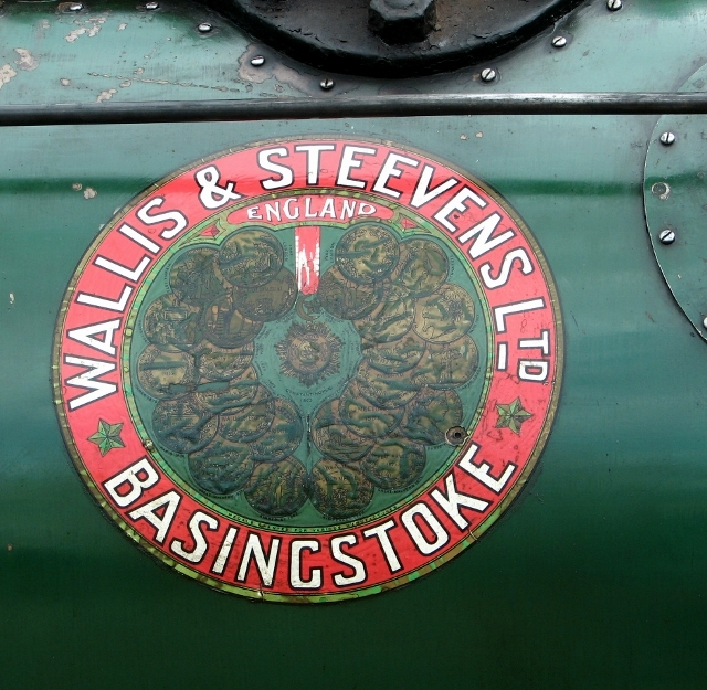 "Wallis & Steevens Traction Engine ""Wanda"" - detail"