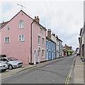 TM2748 : Woodbridge: Quay Street by John Sutton