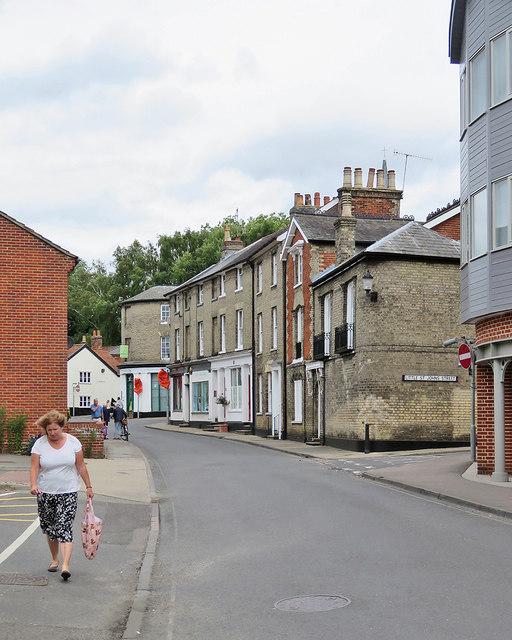 Woodbridge: New Street