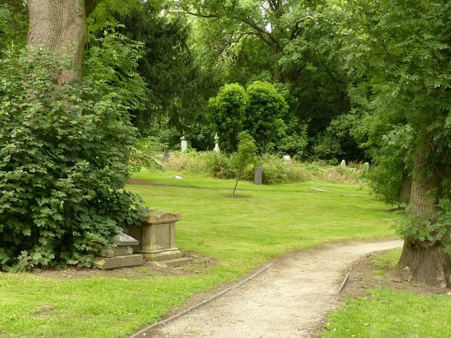 The old churchyard, Ilkeston