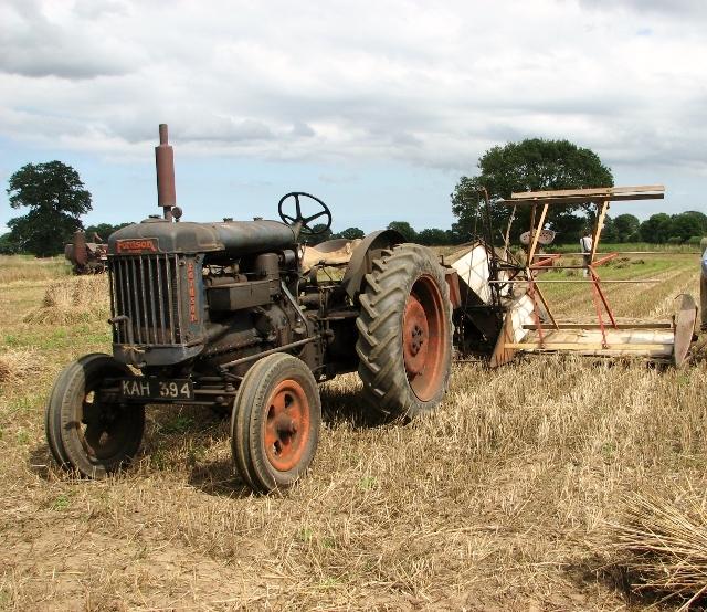 Harvesting in bygone days
