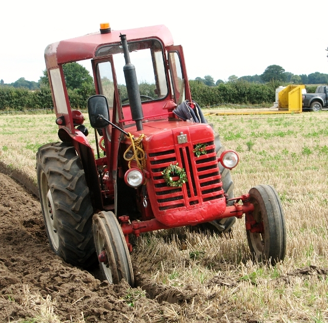 Finished with ploughing