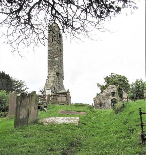 The ruined Templecranny Church, Portaferry