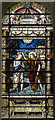SK7565 : Stained glass window, Holy Rood church, Ossington by Julian P Guffogg