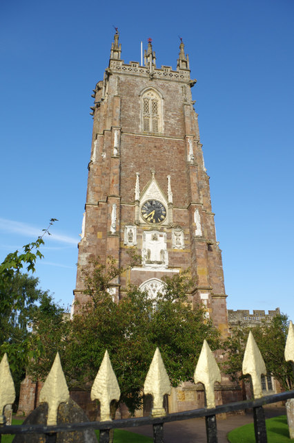 St Andrew's Church tower, Cullompton