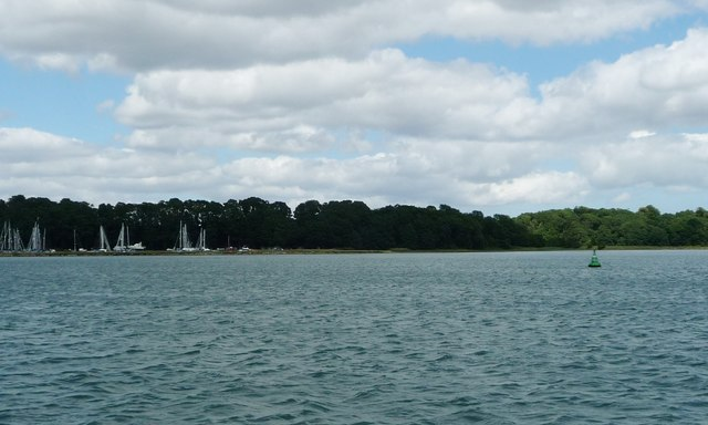Stratton navigation buoy, River Orwell