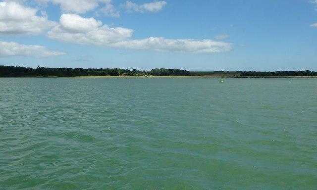 Trimley navigation buoy, Lower Reach, River Orwell