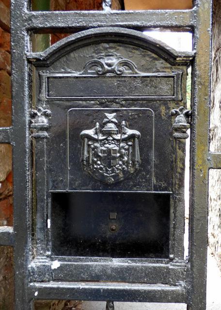 Letter box on Browns Lane