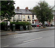 ST3288 : Telecoms cabinets and a BT phonebox, Maindee, Newport by Jaggery