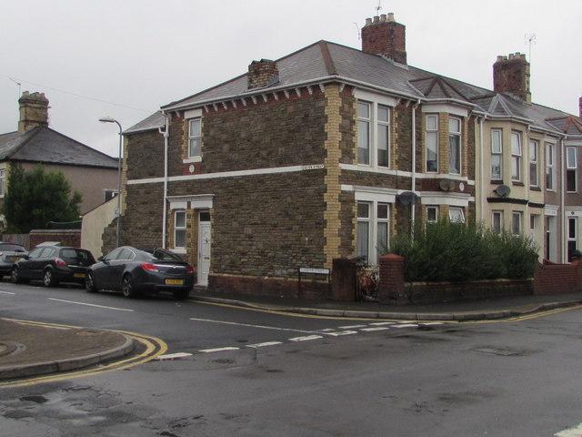 Corner of Exeter Street and London Street, Newport