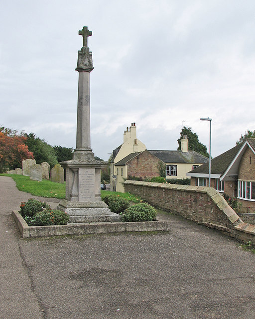 Sutton: the war memorial