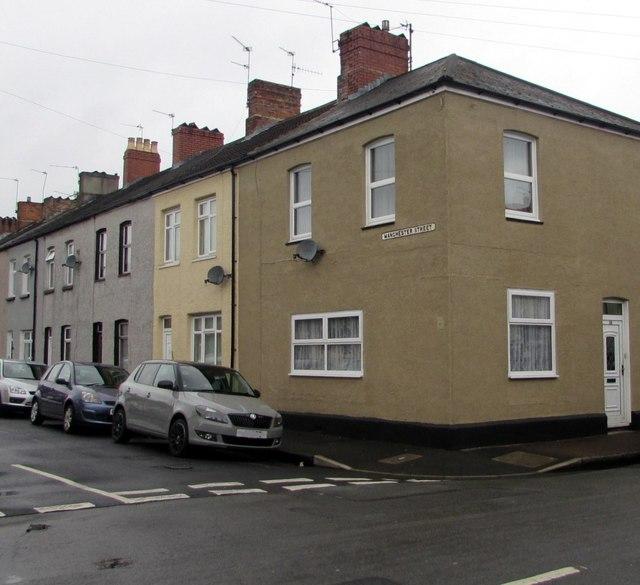 Corner of Manchester Street and London Street, Newport