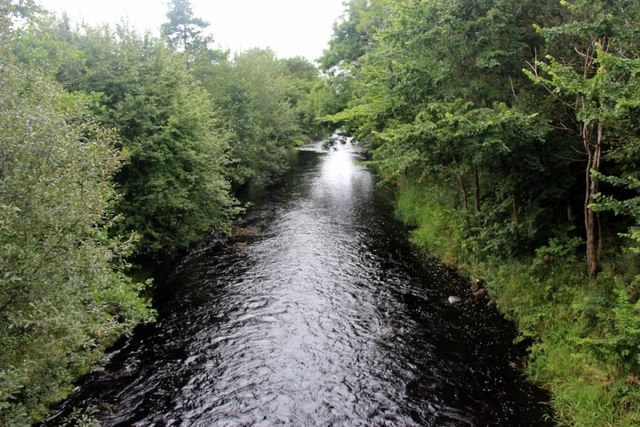 River Irvine at Mason's Holm