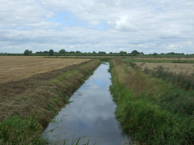 Drain near South Fen Farm