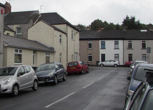 Eastern end of Bristol Street, Newport