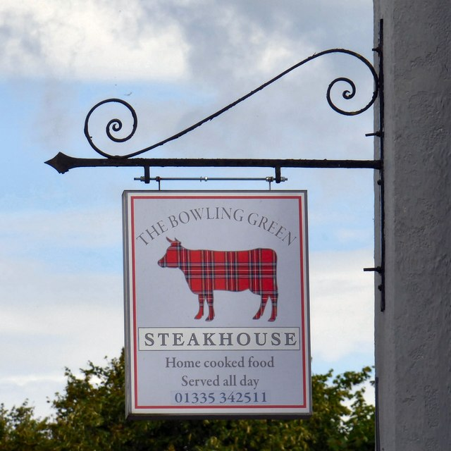 Sign of the Bowling Green Steakhouse