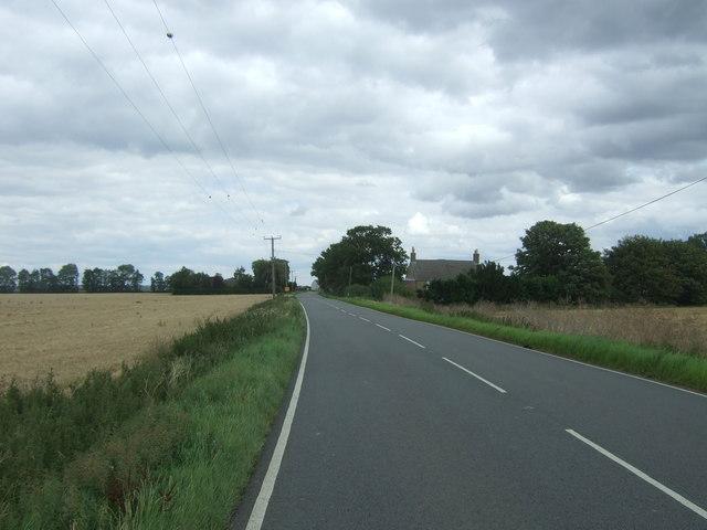 Hill Row Causeway (A1123) towards Haddenham