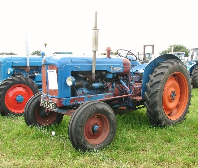 1957 Fordson Major E1A  tractor