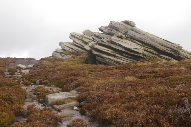 Gritstone formations, Cracoe Fell
