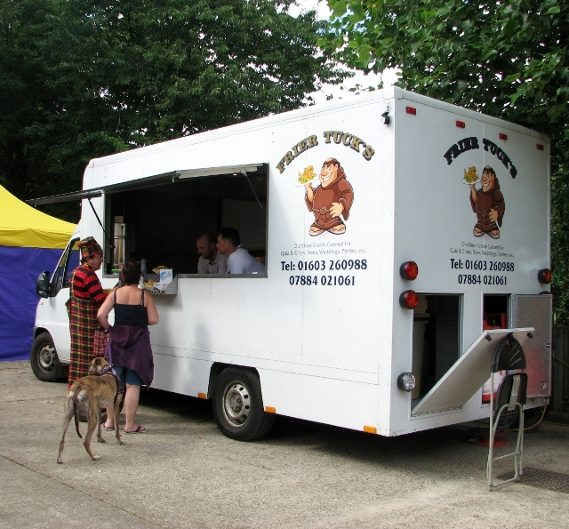 Frier Tuck's mobile food stall
