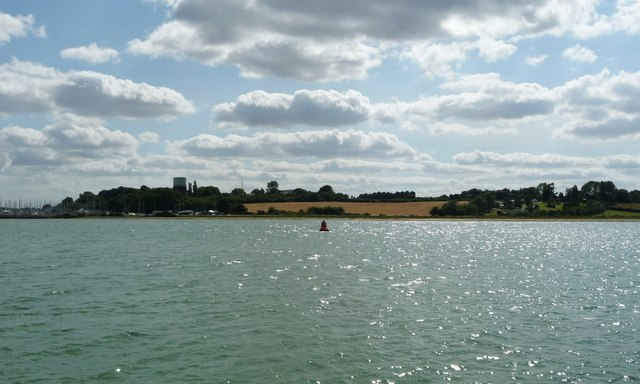 Babergh navigation buoy, River Orwell