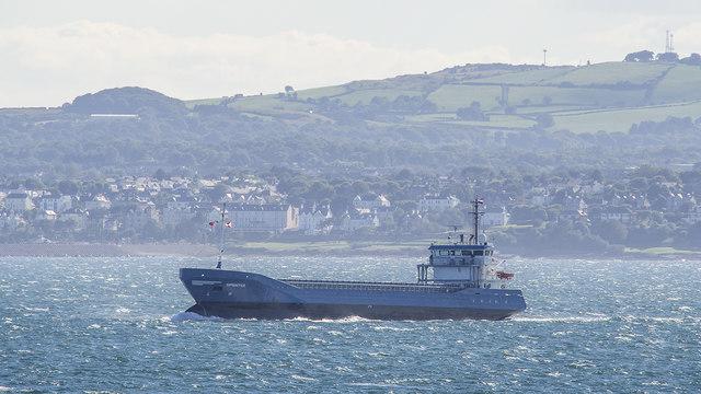 The 'Sprinter' off Bangor