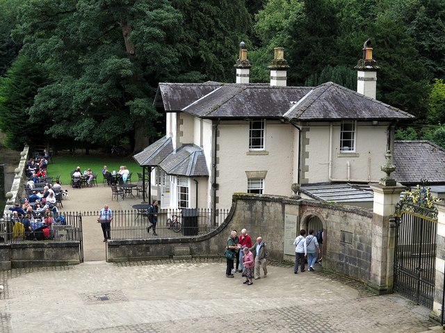 Fountains Restaurant & Canal Gates, Studley Royal