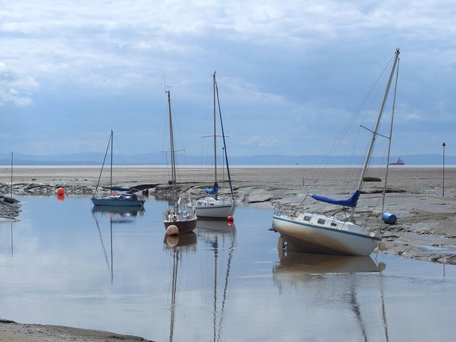 The mouth of the River Alt at Hightown