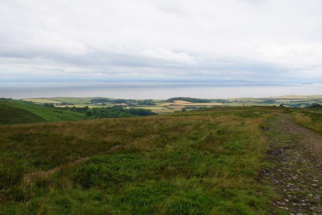 Path on Pardlestone Hill
