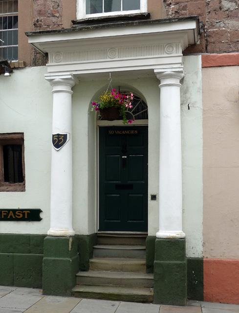Detail of 53 High Street, Ross-on-Wye