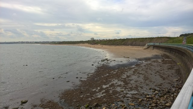 North end of Whitley Sands, Whitley Bay