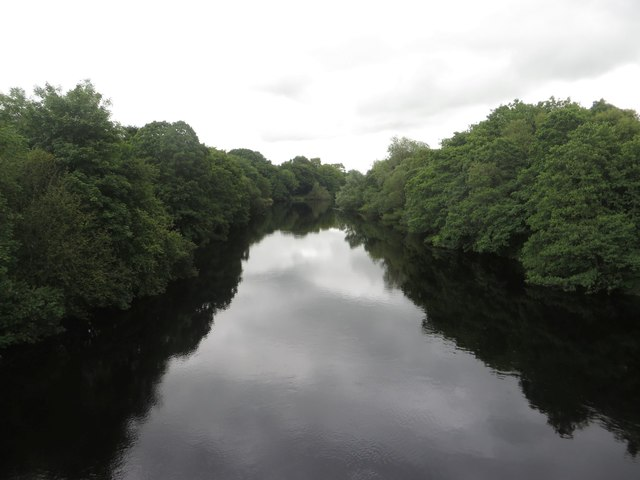 The River North Tyne at Bellingham