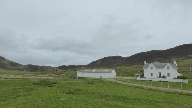 Farm buildings at Grigadale