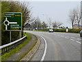 SJ2408 : A483 near Buttington by David Dixon