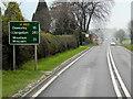SJ2409 : A483 near Moors Farm by David Dixon