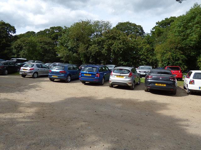 Eastern car park, Golden Acre Park