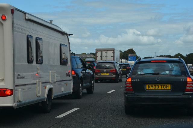 Sedgemoor : The M5 Motorway
